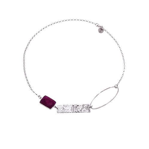 Anne Morgan Jewellery- Erosion Single Oval Necklace
