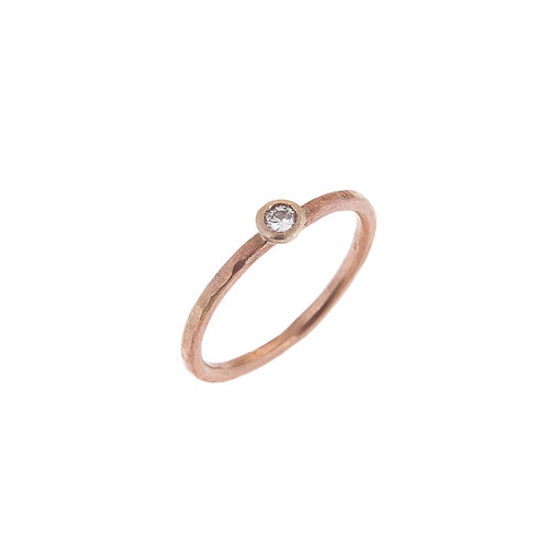 Moondust Ring in 9ct Gold