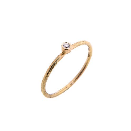 Moondust 18ct Yellow Gold Ring