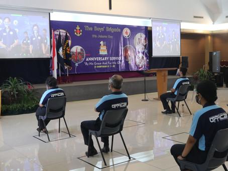 Perayaan Satu Tahun The Boys' Brigade SDH Lippo Village