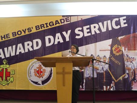 Kebaktian Award Day SDH LV pada 16 Desember 2020