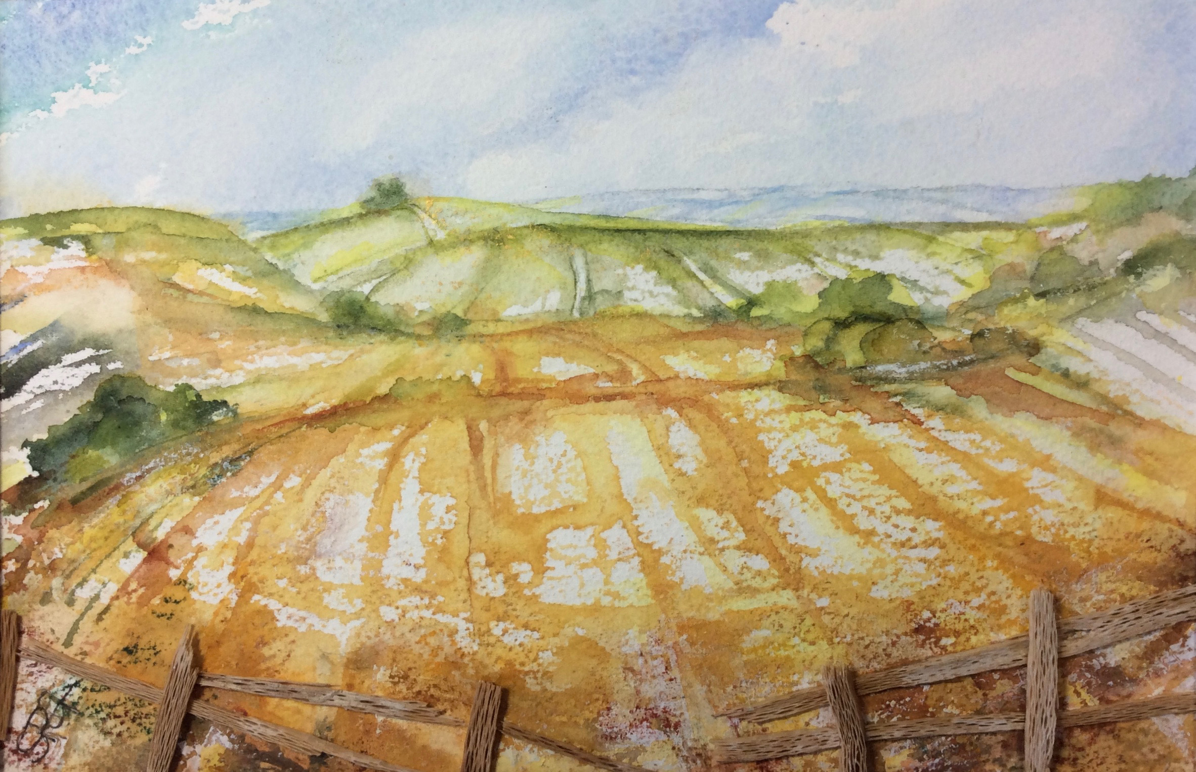 Brightwell Barrow from The Earth Trust