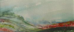 Summer Morning Mist - The Ridgeway