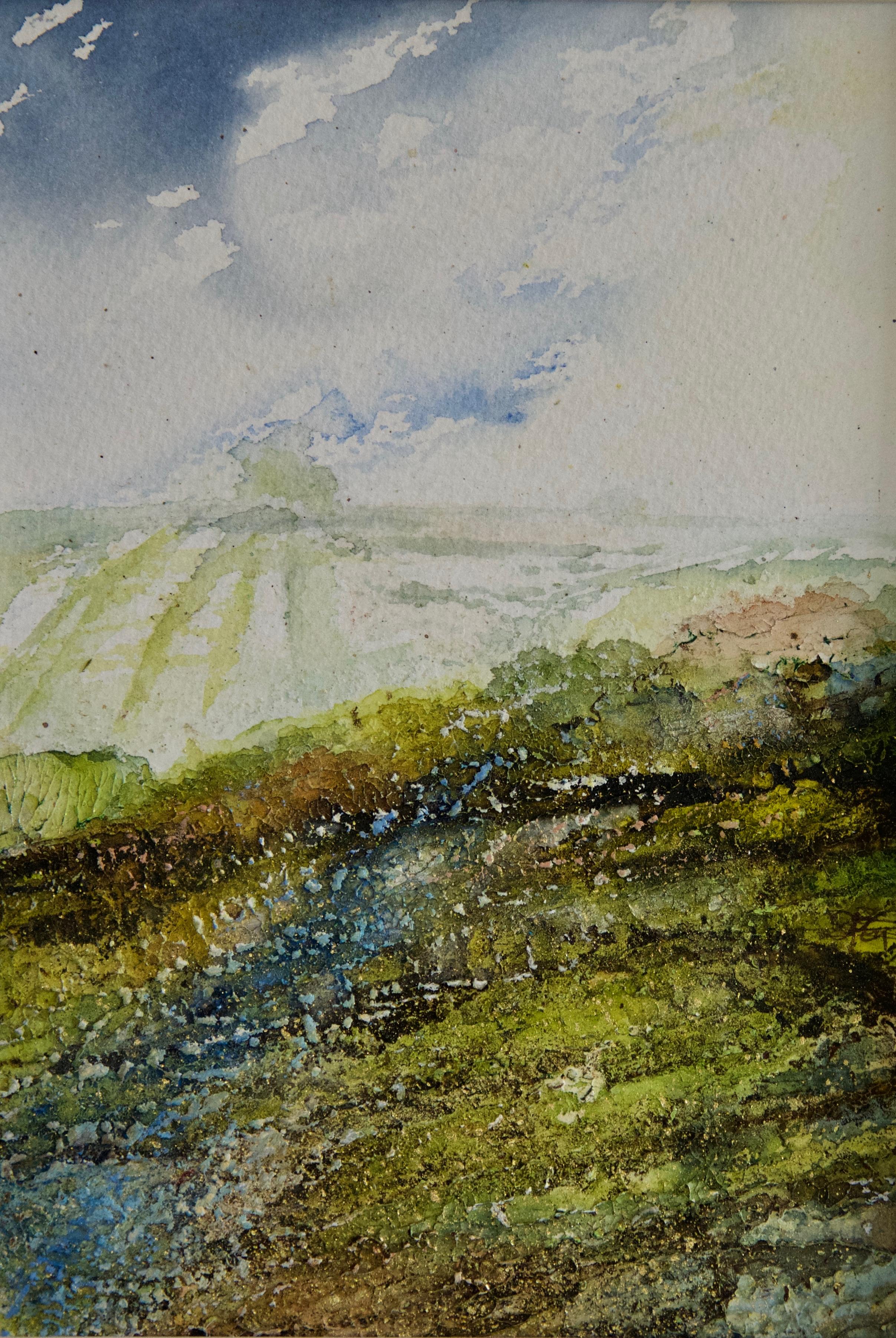 Hope, Cloud Break over Brightwell Barrow