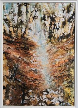 Autumn Path at Grim's Dyke