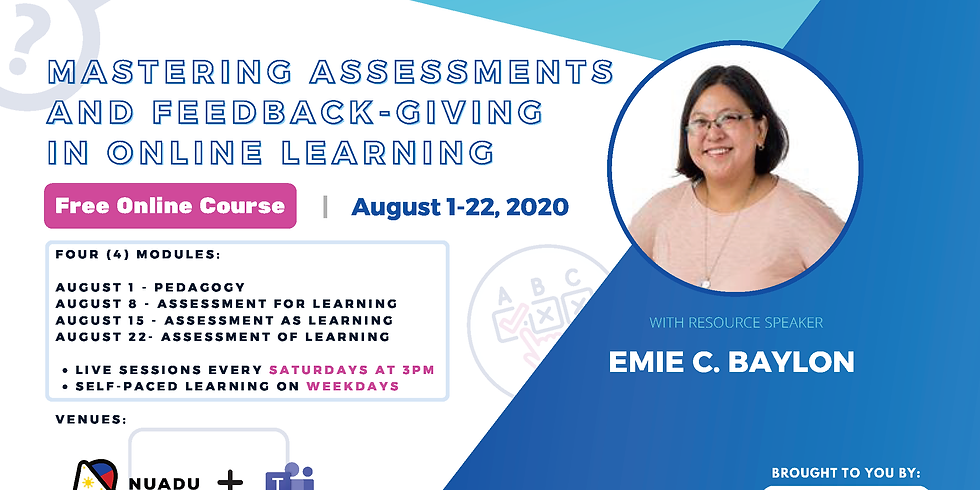 Mastering Assessments and Feedback-Giving in Online Distance Learning