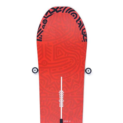 Skateptych ' Vulcan ' Snowboard Wall Mount