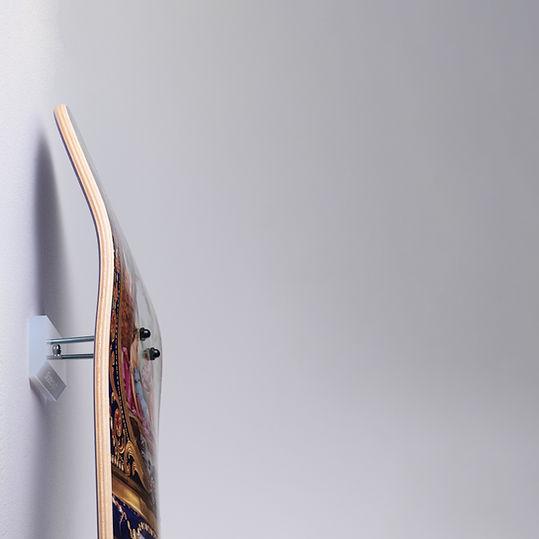 skateptych skateboard luxury wall mount hanger