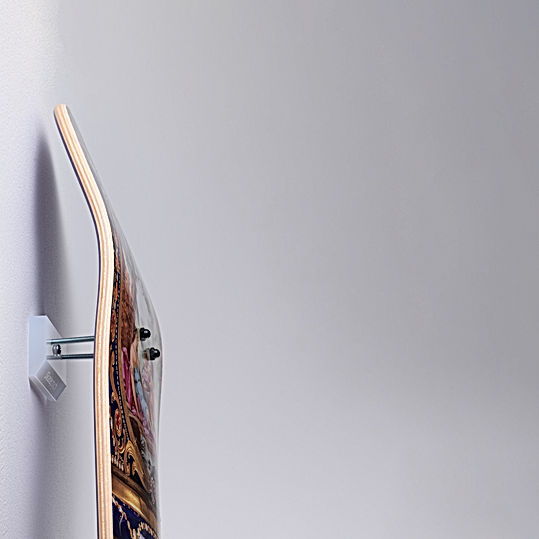 skateptych skateboard luxury wall mount hanger