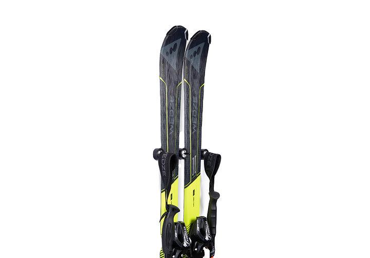 skateptych luxury ski wall mount hanger