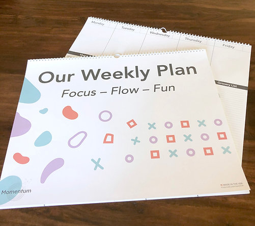 Our Weekly Plan - The weekly wall planner