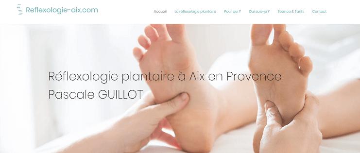 Notre site internet | Pascale Guillot - Réflexologue | Réflexologie plantaire Aix en Provence