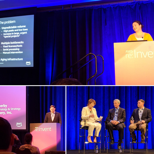 Takeaways from re:Invent 2018: more of the media supply chain is naturally cloud-resident
