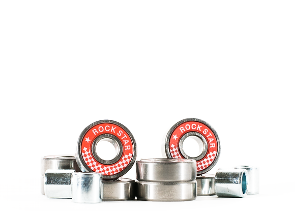 8 Pack Precision Metal Bearings