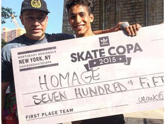 Carlo Carezzano~Takes on Adidas Skate Copa 2015 NYC