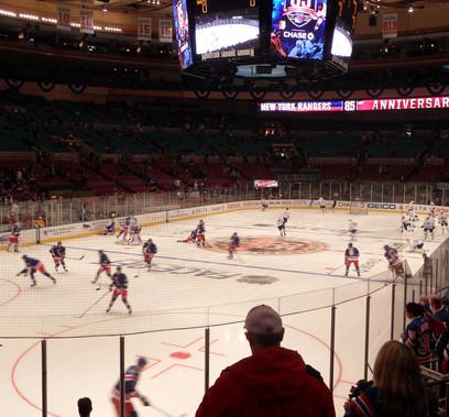 Madison Square Garden - jogo de hockey