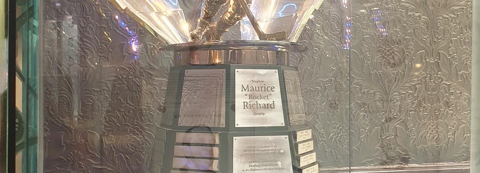 Troféu Maurice Richard - Jogador que marca mais gols durante uma temporada