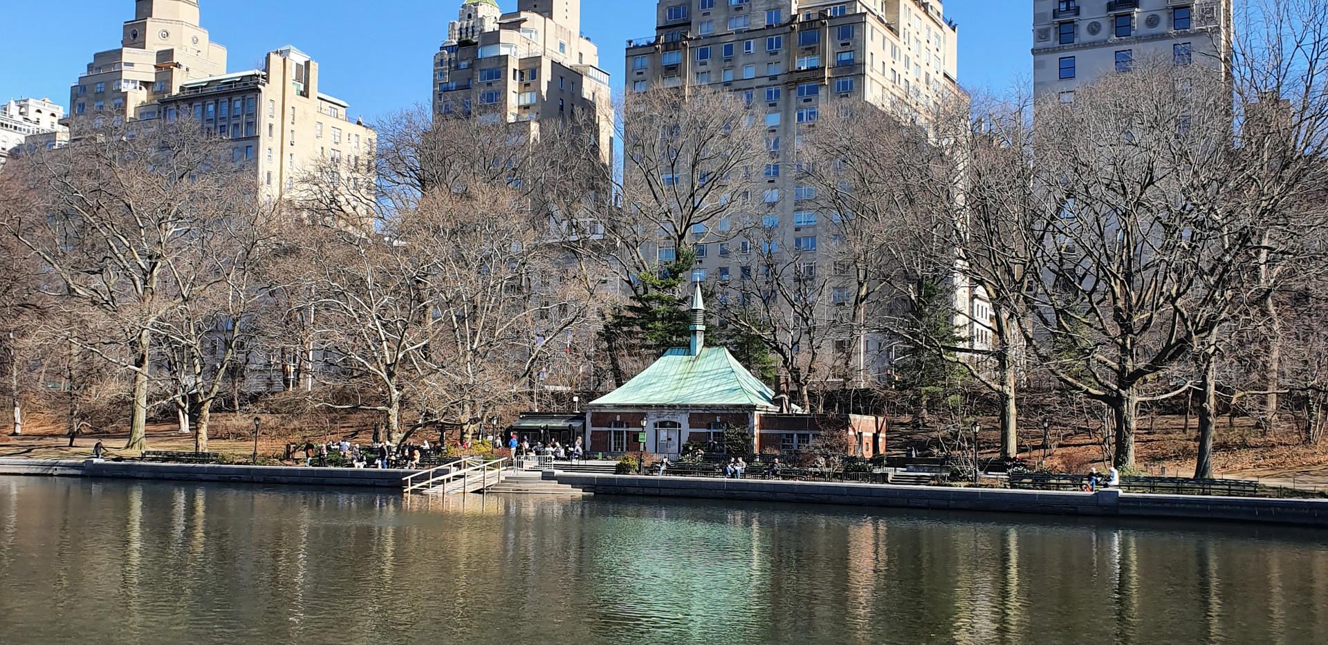 Central Park Model Boat Sailing