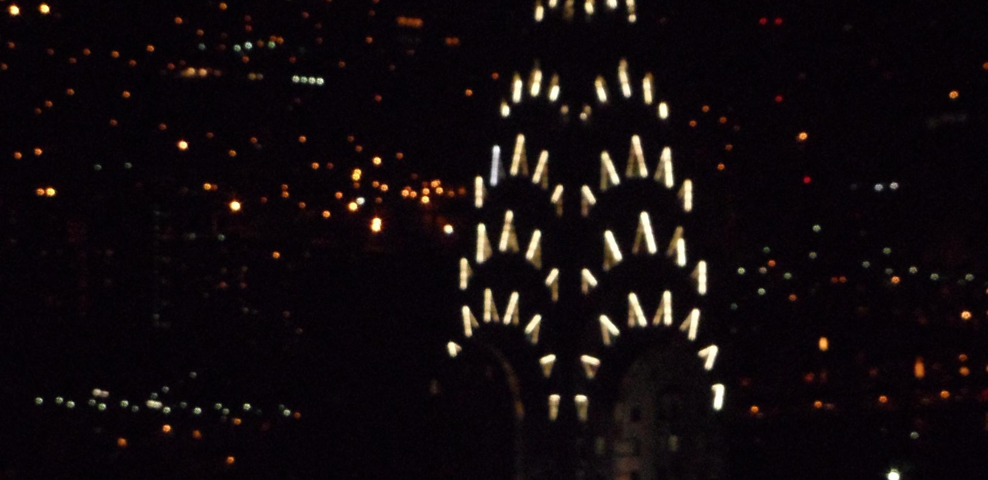 Chrysler Building visto do Empire State Building