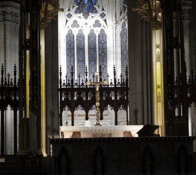St Patrick Cathedral - interior