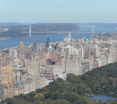 Top of the Rock - vista da parte oeste da cidade