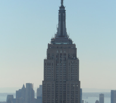 Top of the Rock - vista do Empire State