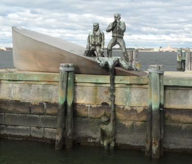 Battery Park - Monumento da da Marinha dos EUA