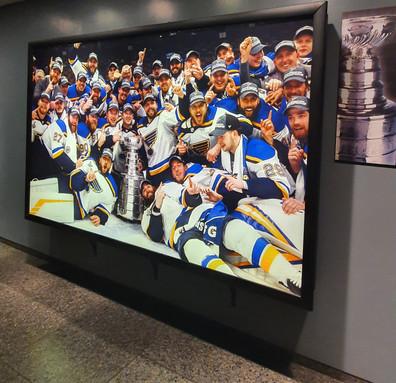 Painel St. Louis Blues campeão 2019