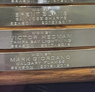 Troféu James Norris Memorial - Melhor Jogador da Defesa