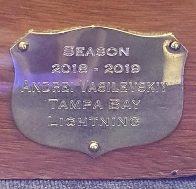 Troféu Vezina - Melhor Goleiro