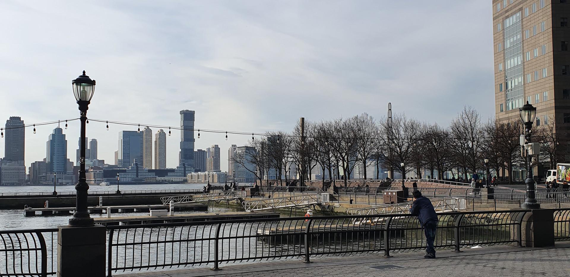 Battery Park City Esplanade - Brookfield Place