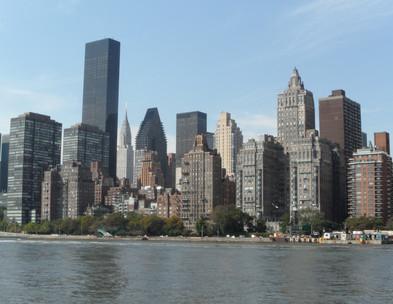 Roosevelt Island - vista de Manhattan