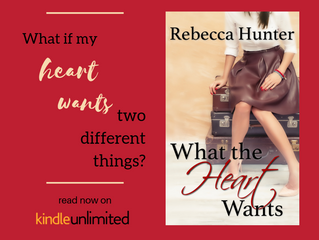 What the Heart Wants is LIVE!