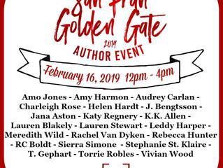 San Fran Golden Gate Author Event