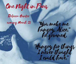 One Night in Paris - coming soon!