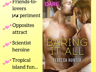BARING IT ALL coming June 1, ARCs ready to go...