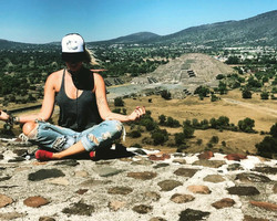 Top of Pyramid Of the Sun meditation