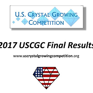2017 US Crystal Growing Competition Winners