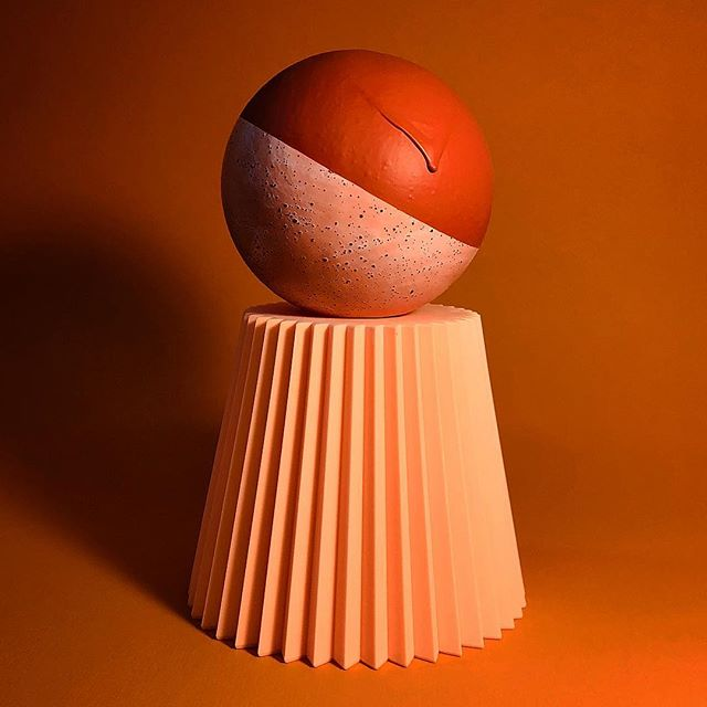 🍊🍑🍓 #ceramic #clay #ceramicsculpture