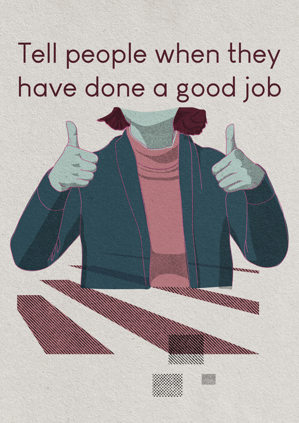 Tell People When They Have Done A Good Job