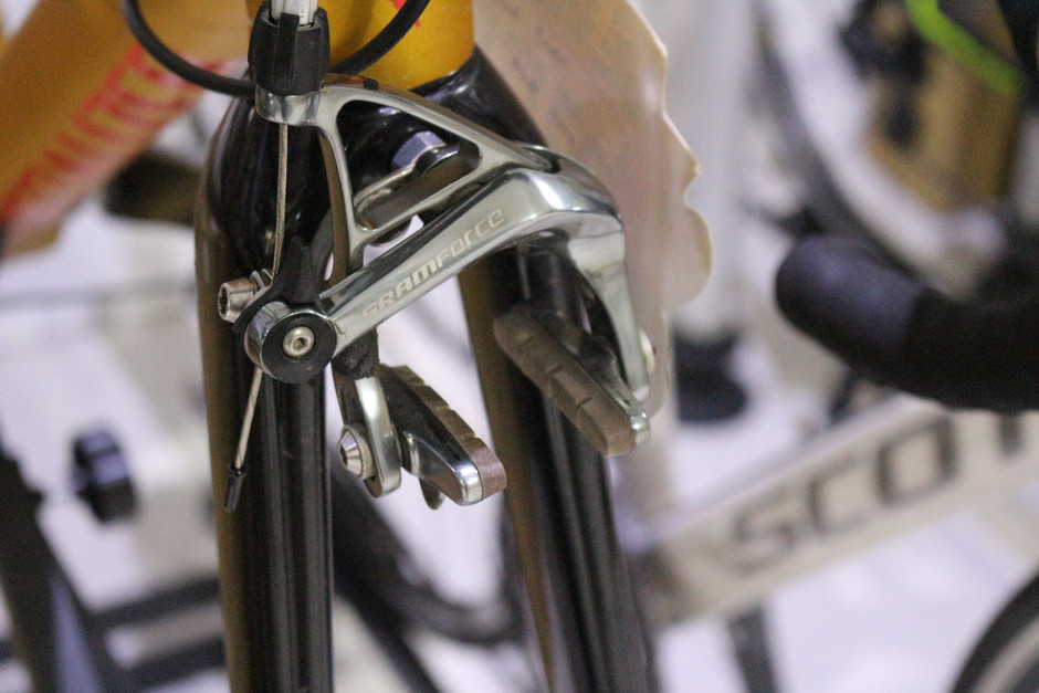 How to take care of your rim brakes on your used bicycle