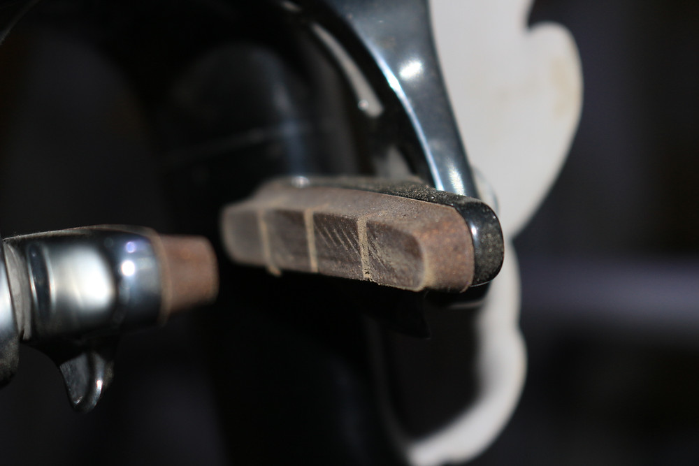 Used bicycle Brake pad