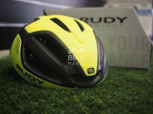 Rudy Project Spectrum Yellow Fluoro Black Matte - Helmets
