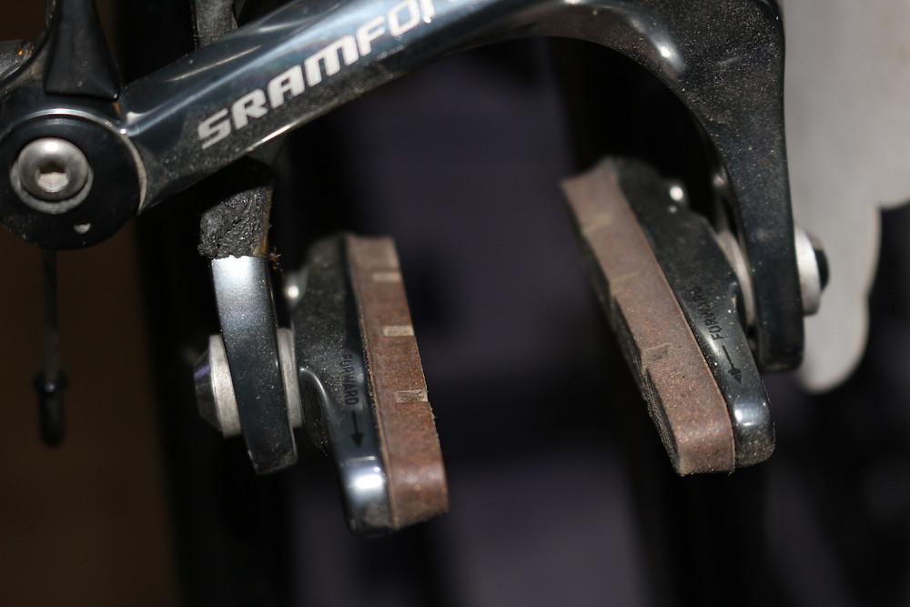 Used Bicycle brake caliber
