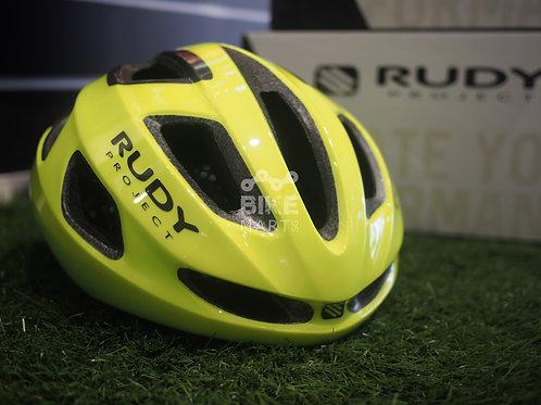 Rudy Project Strym  Fluoro Yellow Shiny- Helmet
