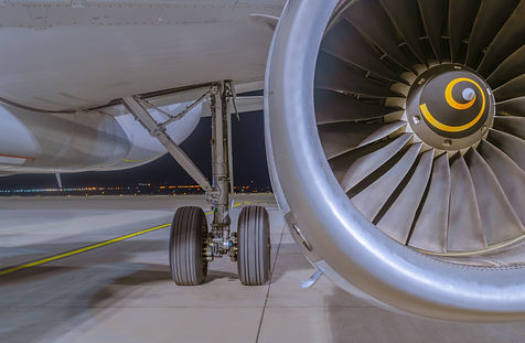 View on Airbus A320-232 aircraft's IAE V
