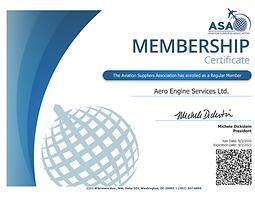Certificate-18516-17316 - Aero Engine Se
