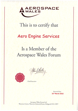 Aero Engine Services Aerospace Wales