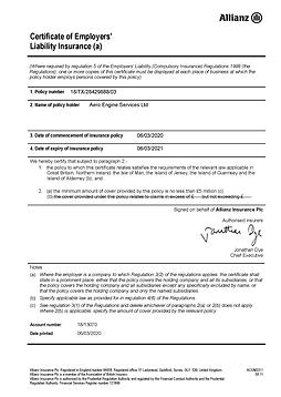 EL Certificate - Offices & Surgeries Pol
