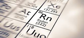 Radon element picture. Rn (222)
